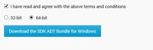 Download ADT and SDK