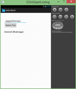 Android Application Preview