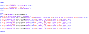 Complete Webpage Code