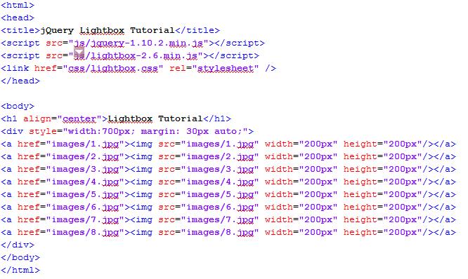 HTML Code till now