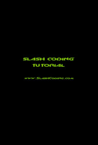 Splash Screen Output
