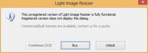 Light Image Resizer Trial