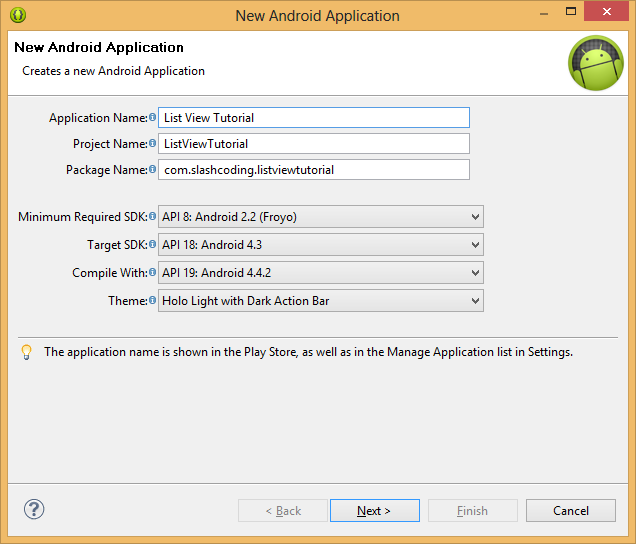 Learn How to Create a Simple List View in Android Application