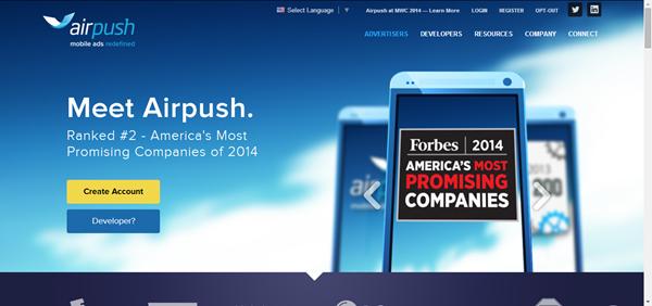 AirPush Advertisement
