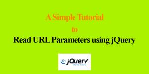 Read URL Parameters using jQuery