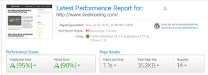 GTMetrix for Slash Coding