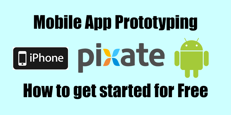 Mobile App Prototyping using Pixate Studio by Google